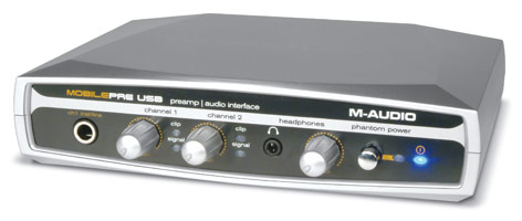 M-Audio MobilePre USB Bus-Powered Preamp and Audio Interface