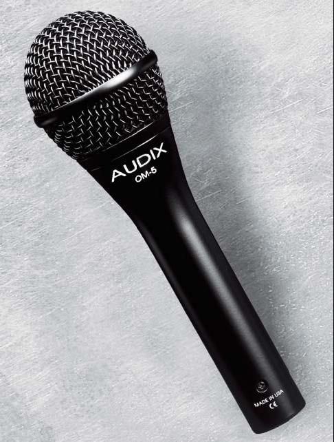 Audix OM-5 DYNAMIC VOCAL MICROPHONE